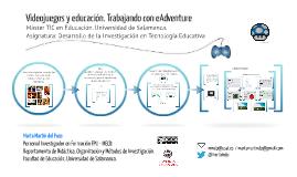 Máster TIC 2015-2016 Videojuegos y educación. Trabajando con eAdventure