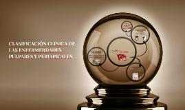 Copy of CLASIFICACIÓN CLINICA DE LAS ENFERMERDADES PULPARES Y PERIAP