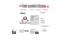 École secondaire Keranna