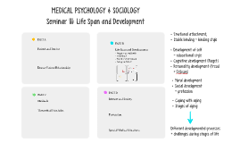 Seminar IV: Life Span and Development