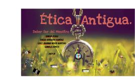 Ética Antigua