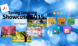Spring Learning Showcase 2015