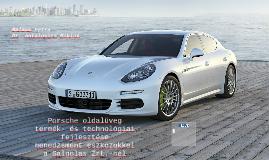 Porsche oldalüveg