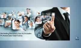 Marketing Personal y las Actividades Profesionales reservada