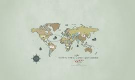 Conflictos previos a la primera guerra mundial