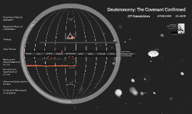 Deuteronomy: The Covenant Confirmed