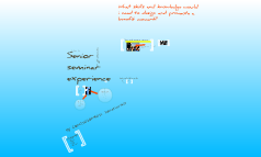 Senior seminar experience