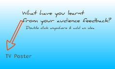 What have you learnt from your audience feedback?