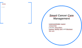 Smart Cancer Care Management