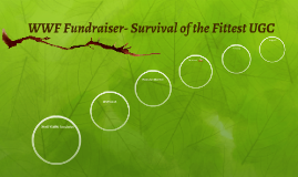 Copy of WWF Fundraiser- Survival of the Fittest UGC