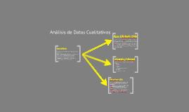 Estrategias de Análisis de Datos Cualitativos