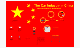 The Car Industry in China