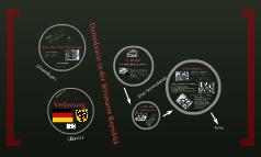 Demokratie im Weimarer Republik