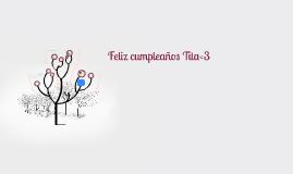 Feliz cumpleaños Tita♥