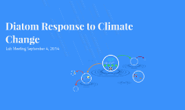 Diatom Response to Climate Change