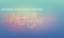 Building Your Team Culture