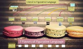 Copy of Flavors of Figurative Language