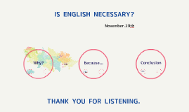 英語は必要か?