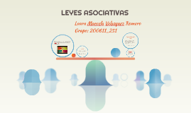 Copy of LEYES ASOCIATIVAS
