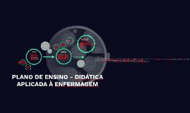 Copy of PLANO DE ENSINO - DIDÁTICA NA ENFERMAGEM