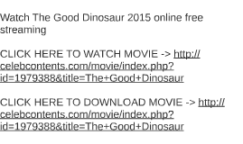 watch the good dinosaur 2015 online free streaming by christina