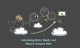 Calculating Birth and Death Rate