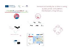 Presentation international mobility INS M. Roig Terrassa - L. Pierre Bayle Sedan
