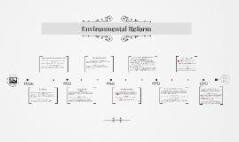 Environmental Reform