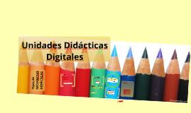 Diseño de Unidades Didácticas Digitales