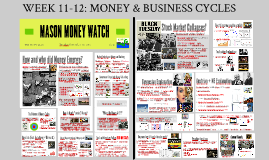 GUEST LECTURE: MONEY & BUSINESS CYCLES