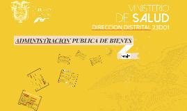 ADMINISTRACION PUBLICA DE BIENES