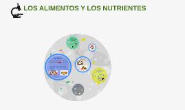 LOS ALIMENTOS Y LOS NUTRIENTES