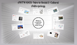 ANTH 1003: Introduction to Social and Cultural Anthropology (Fall 2017)