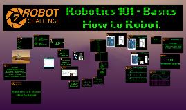 Robot Challenge 7 - Workshop 1