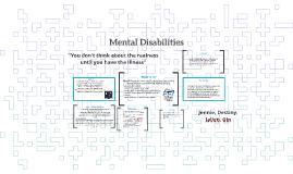 Mental Disabilties