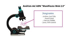 "Análisis ADN ""Manifiesto Web 2.0"""