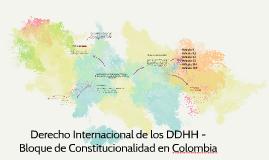 Derecho Internacional de los DDHH - Bloque de Constitucional
