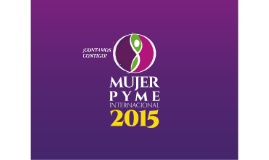 Mujer PyME 2015