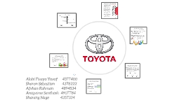 TOYOTA'S learning