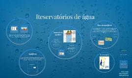 Reservatórios de água