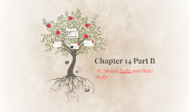 Chapter 14 Part B