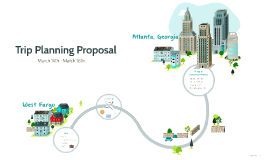 Copy of Trip Planning Proposal