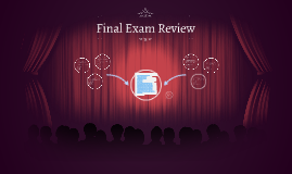 Copy of Final Exam Review