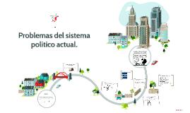 Copy of Problemas del sistema político actual.
