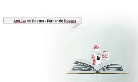 Analise de poema-Fernando Pessoa