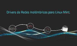 Drivers de Redes Inalámbricas.