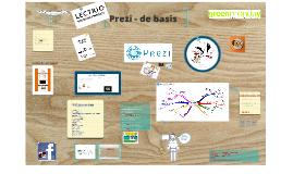 Achtergrond bij greenmonday Prezi cursus - Prezi, mindmappen, presenteren