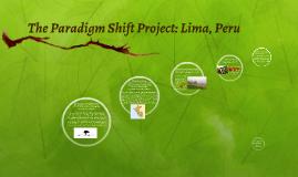 The Paradigm Shift Project: Lima, Peru