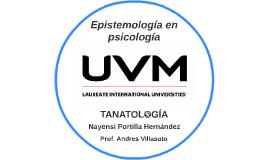 Epistemología en psicología