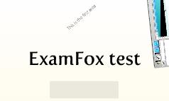 ExamFox test